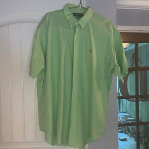 Ralph Lauren Blue Label Shirts - Ralph Lauren Polo short sleeve button up